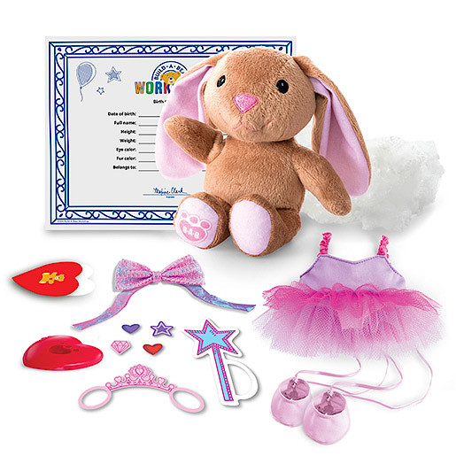 Image of Build-A-Bear Workshop Skin with Furry Fashions - Ballerina Bunny