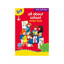 James Galt Early Activities All About School Sticker Book
