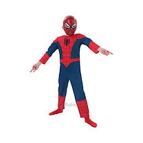 Ultimate Spider-Man Costume (Age 3-4)