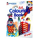 The Entertainer Colouring Book