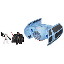 Playskool Heroes Star Wars Jedi Force - Darth Vader's TIE Fighter with Stormtrooper