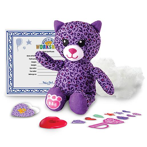 Image of Build-A-Bear Workshop Skins - Purple Kitty