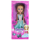 Sparkle Girlz Princess Doll - Blonde Hair with Blue Dress