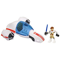 Playskool Heroes Star Wars Jedi Force - Freeco Bike with Obi-Wan Kenobi Figure