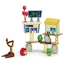 Angry Birds Attack On Pig Island Playset - Pig City Strike