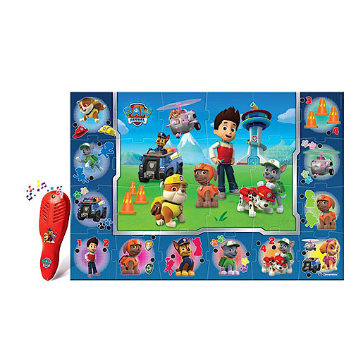 Clementoni - Paw Patrol The Giant Electronic Floor Game - Chase and Friends