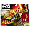 Star Wars Ezra Bridger's Speeder Vehicle with Figure