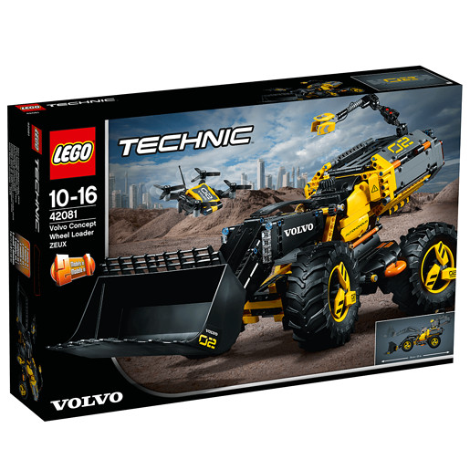 LEGO Technic Volvo Concept Wheel Loader ZEUX - 42081