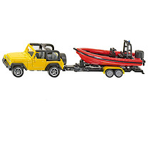 Die-Cast Jeep with Boat