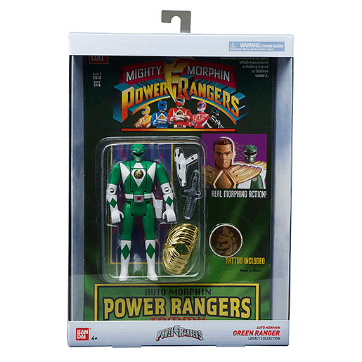 Mighty Morphin Power Rangers Legacy Green Ranger