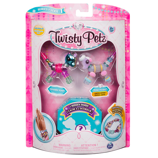 Twisty Petz Three Pack - Pony, Poodle and Surprise