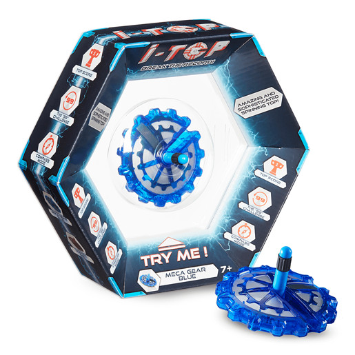 I-Top Action Game - Meca Gear Blue