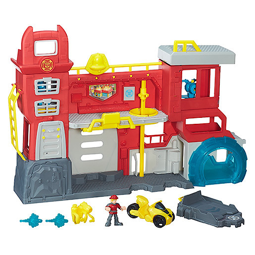 Hasbro B5210 Transformers Rescue Bots Griffin Rock Firehouse Playset Toy