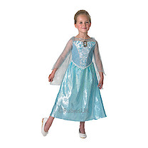 Disney Frozen Elsa's Musical & Light Up Costume - Large (Age 7-8)