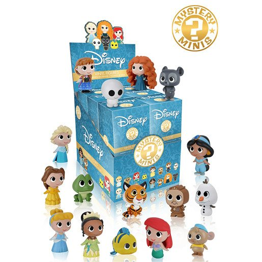 Funko Mystery Minis - Disney Princess (One figure supplied)