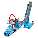 Disney Pixar Cars Drop & Jump Gray Transporter Playset