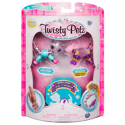 Twisty Petz Three Pack - Panda, Bunny and Surprise