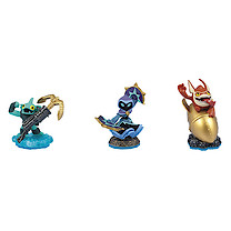 Skylanders Swap Force Triple Figure Pack - Trigger Happy, Star Strike, Gill Grunt