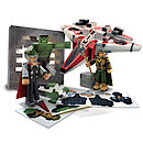 Marvel Avengers Assemble Paper Craft Action Figures Pack - Avenjet Aircraft