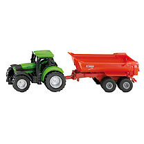 Die-Cast Deutz Tractor With Tipping Trailer