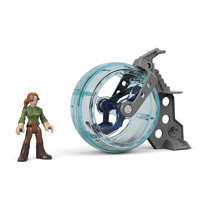 Imaginext Jurassic World Playset - Claire & Gyrosphere