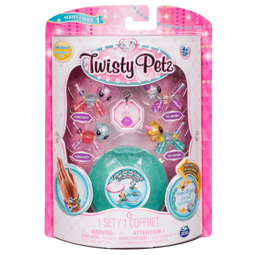 Twisty Petz Twin Baby Four Pack - Kitties and Unicorns