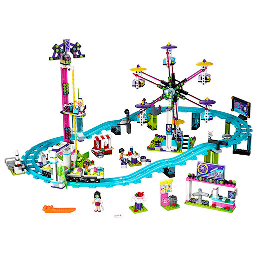 Lego Friends Amusement Park Roller Coaster 41130 The Entertainer