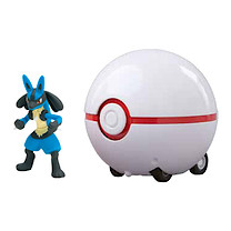 Pokemon Super Catch 'n' Return Poke Ball - Lucario and Premier Ball