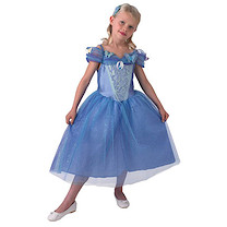 Disney Princess Live Action Cinderella Dress and comb