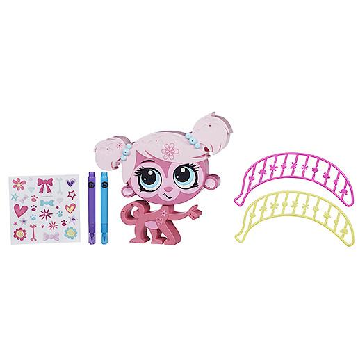 Littlest Pet Shop Style n Store Pet  Monkey