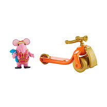 Clangers Tiny With Scooter Vehicle