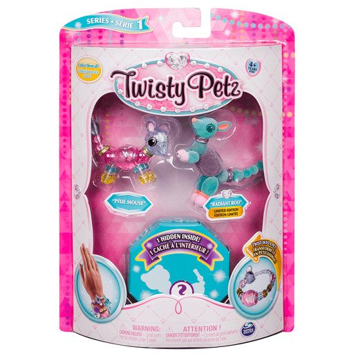 Twisty Petz Three Pack - Mouse, Kangaroo and Surprise