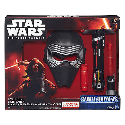 Star Wars The Force Awakens Kylo Ren Mask and Lightsaber