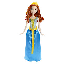 Disney Sparkle Princess - Merida Doll