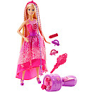 Barbie Endless Hair Kingdom Twist 'n' Style Princess Doll