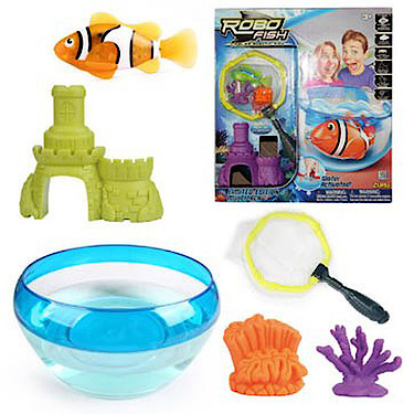 Robo Fish Limited Edition<br /> Bowl' Net and Fish Set