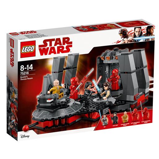 LEGO Star Wars Snokes Throne Room - 75216