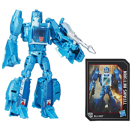 Transformers Generations Deluxe Titan Master Hyperfire & Blurr Figure