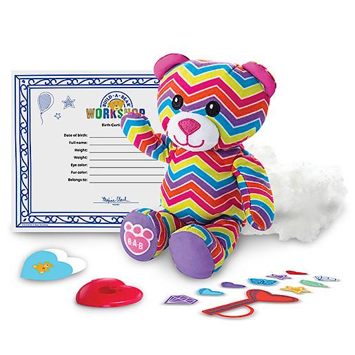 Image of Build-A-Bear Workshop Skins - Rainbow Bear