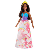 Barbie Dreamtopia Princess Doll - Dark Brown Hair