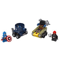 LEGO Super Heroes Mighty Micros: Captain America vs. Red S - 76065