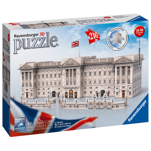 Ravensburger Buckingham Palace 3D Jigsaw Puzzle-216pc