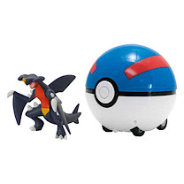 Pokemon Super Catch 'n' Return Poke Ball - Garchomp and Great Ball