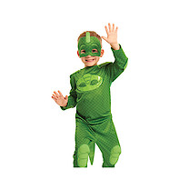 PJ Masks Gekko Hero Dress Up Costume (4-6 Years)