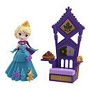 Disney Frozen Little Kingdom Elsa Doll with Throne Accessory