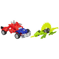 Transformers  Construct Bots Dinobot Warriors Optimus Prime and Gnaw Dino