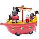 Peppa Pig Grandad Dog's Pirate Boat Set