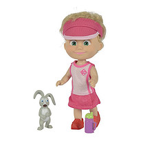 Masha and The Bear 12cm Doll with Rabbit Figure