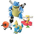Pokemon XY 4 Figure Gift Pack - Blastoise, Flabebe, Fletchling and Manectric