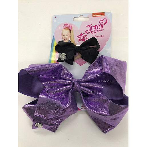 Picture of JoJo Siwa Glitter Bow 2 Pack - Light pink